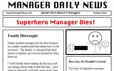 Superhero Manager Dies!