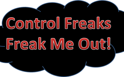 How to Avoid being the Control Freak!
