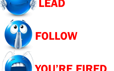 Lead, Follow or You're Fired! #47 Manager Mojo Podcast
