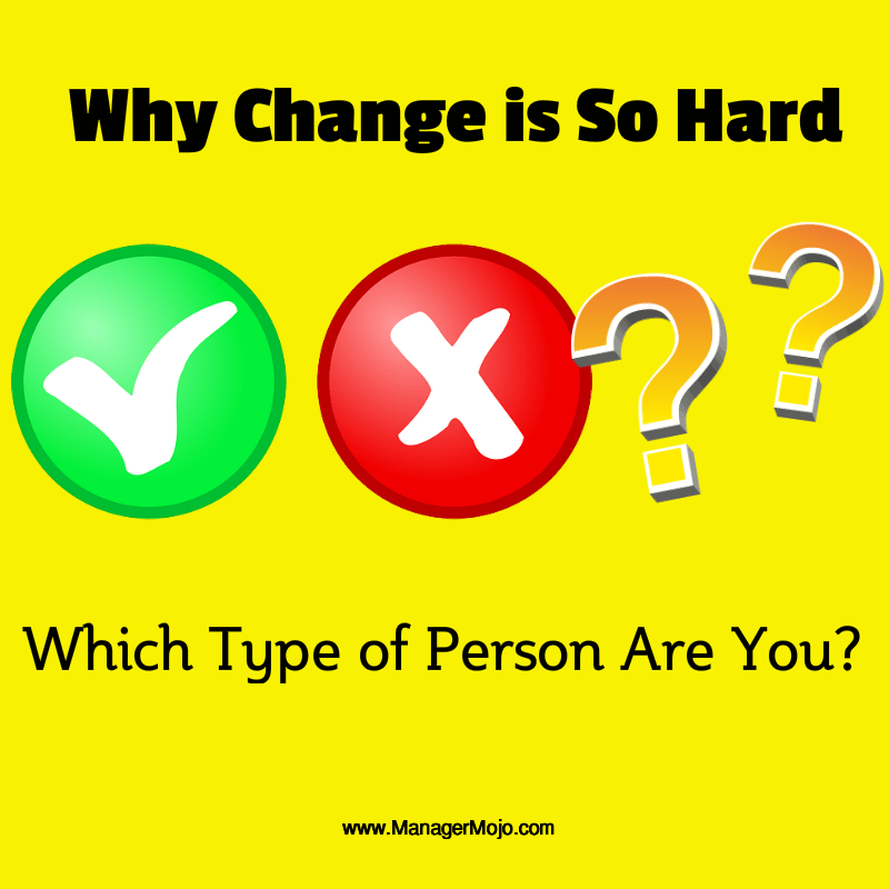 Why Change is So Hard