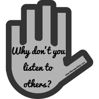 Common Reasons We Don't Listen