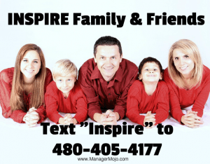 Inspire #2 – Family & Friends