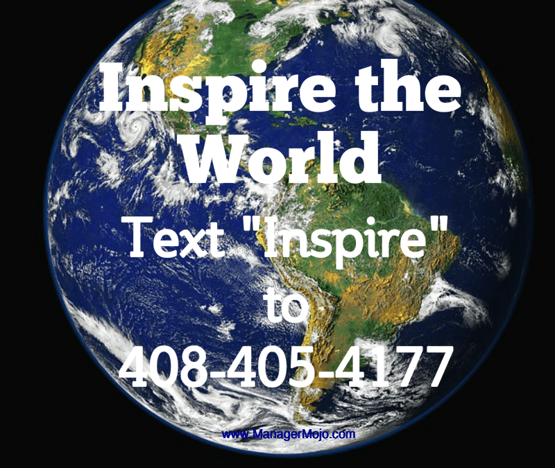Inspire #4 – Inspire the World