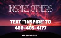 Inspire #3 – Inspire Others