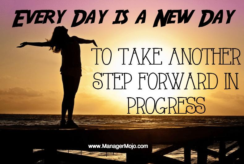 New Day Progress Manager Mojo