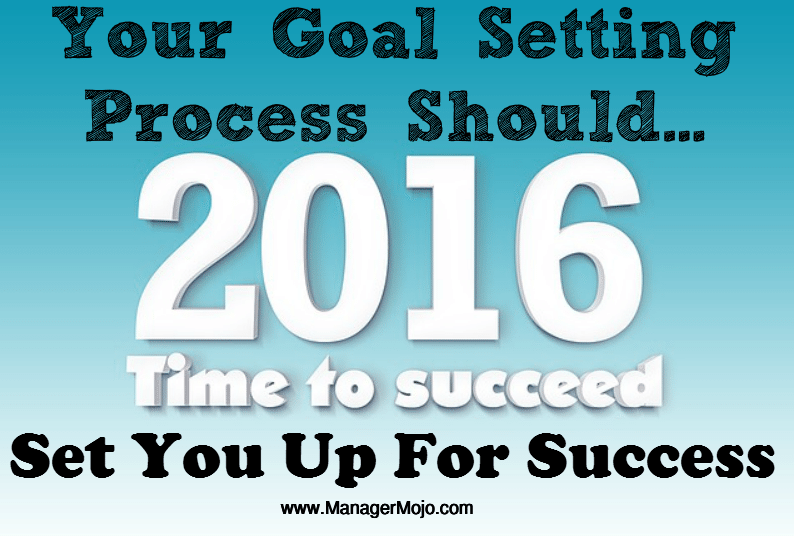 Common Goal Setting Mistakes   (Set Up For Success)